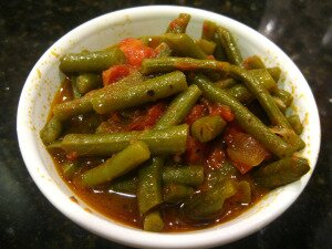 Green Beans, Tomatoes, Olive Oil