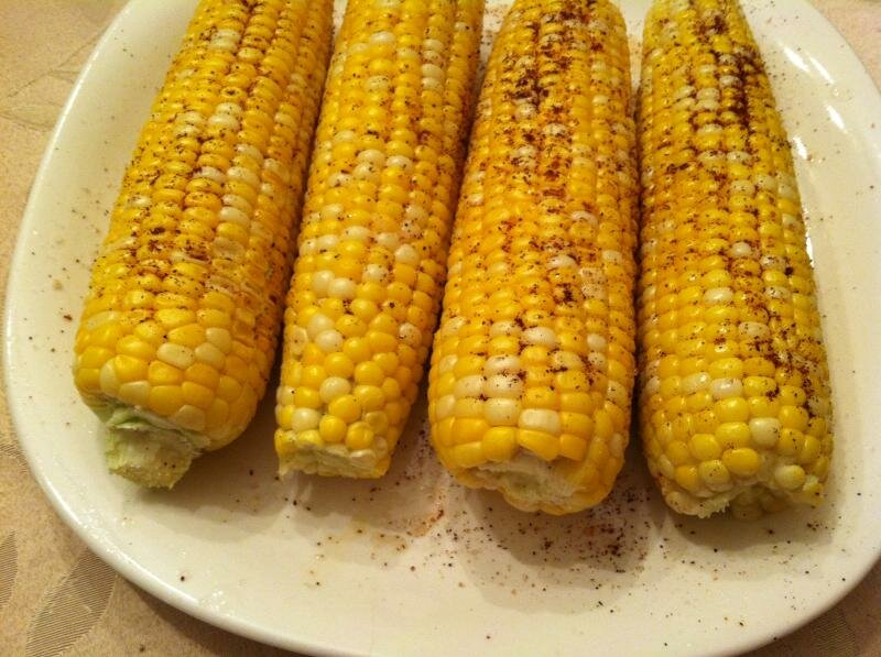 Chili Lime Corn on the Cob from A. Cook in the Making