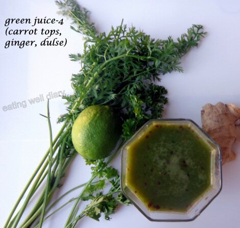 Green Juice Eating Well Diary
