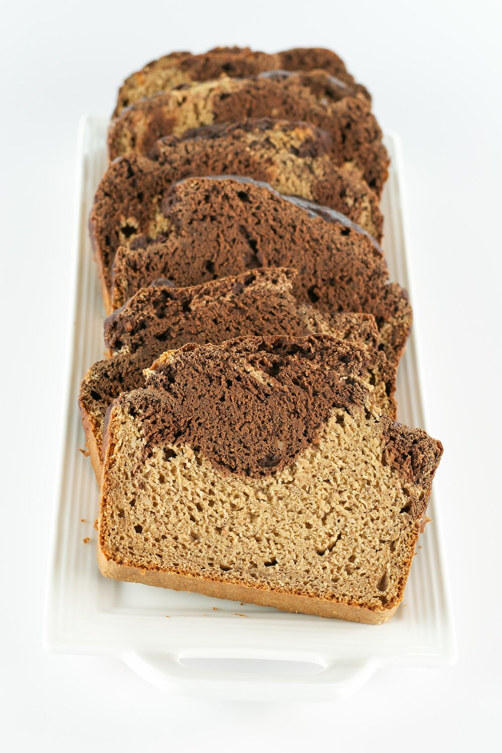 Marble Banana Bread An Unrefined Vegan