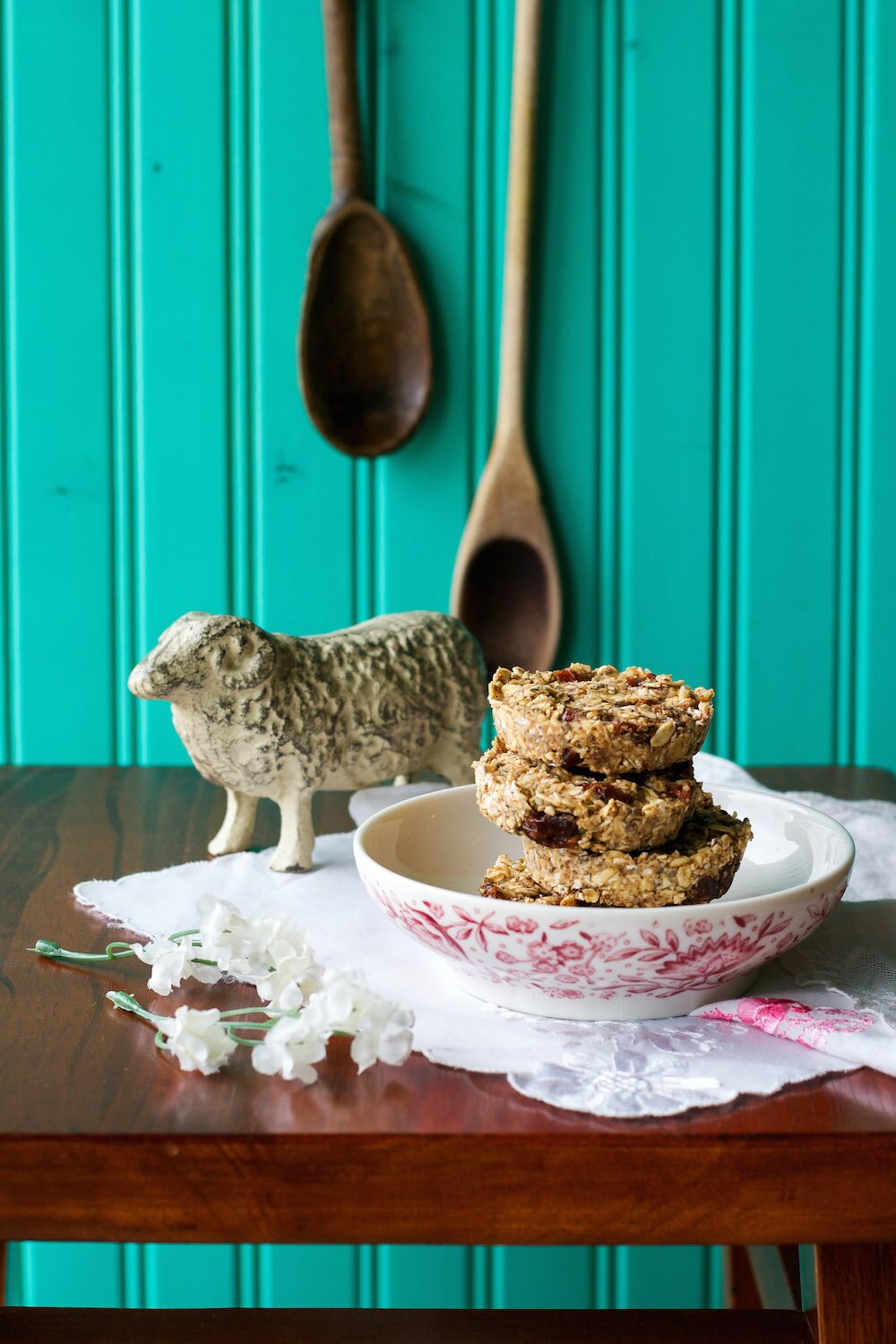 No Bake Breakfast Cookies from Crave Eat Heal by Annie Oliveri