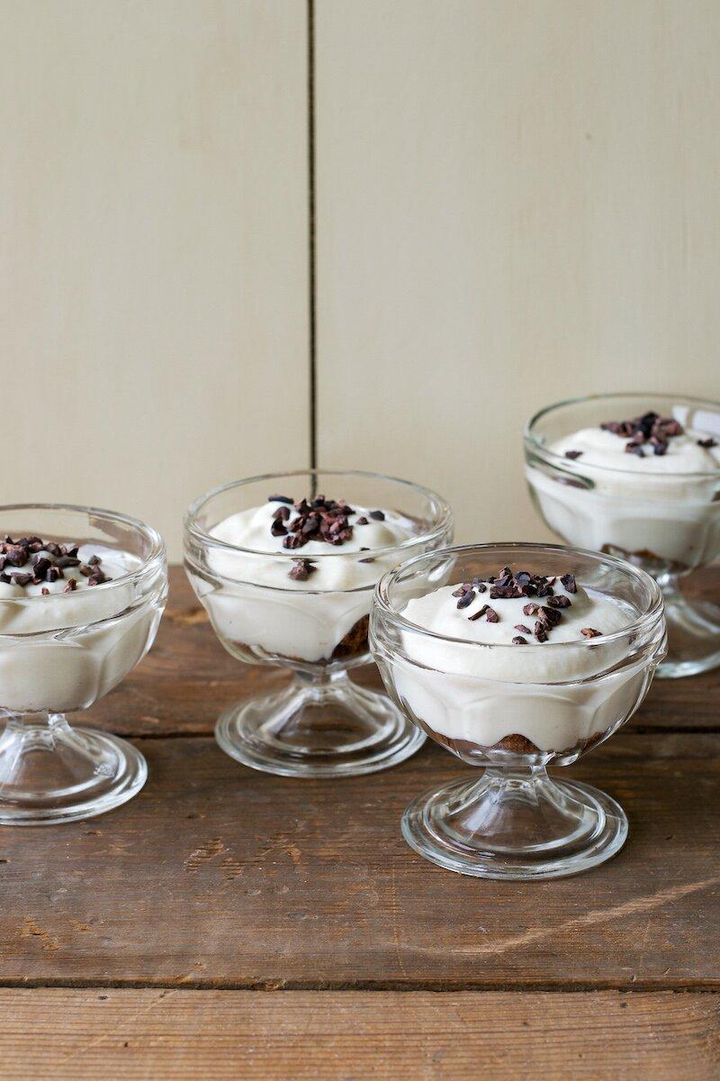 Sugar-free Vegan White Chocolate Pudding by An Unrefined Vegan
