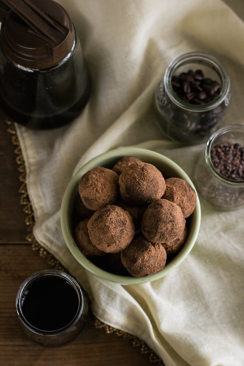 Dairy-free Maple Vanilla Truffles by An Unrefined Vegan