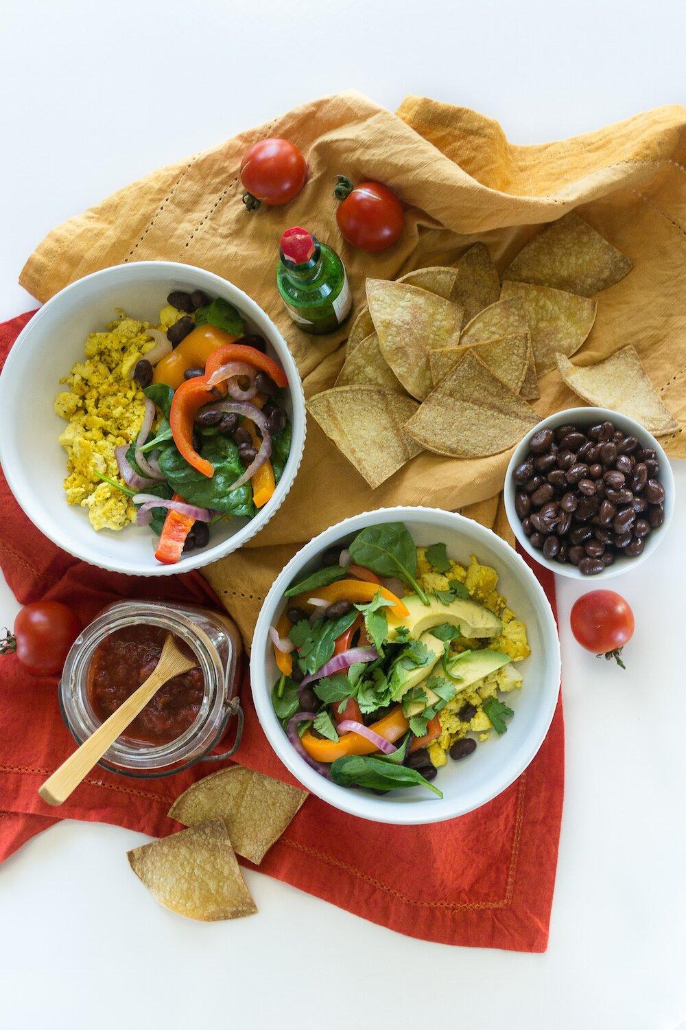 Scramble Burrito Bowl from Vegan Bowl Attack Photo by Annie Oliverio